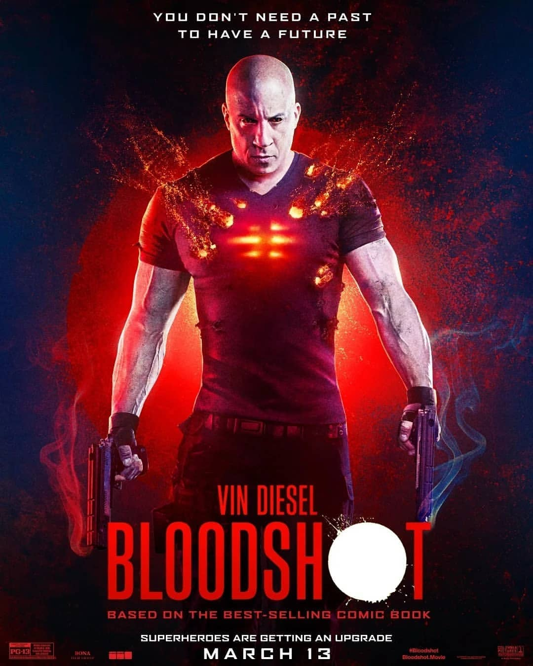 Bloodshot Movie Review : A thrilling leap of sci-fi imagination