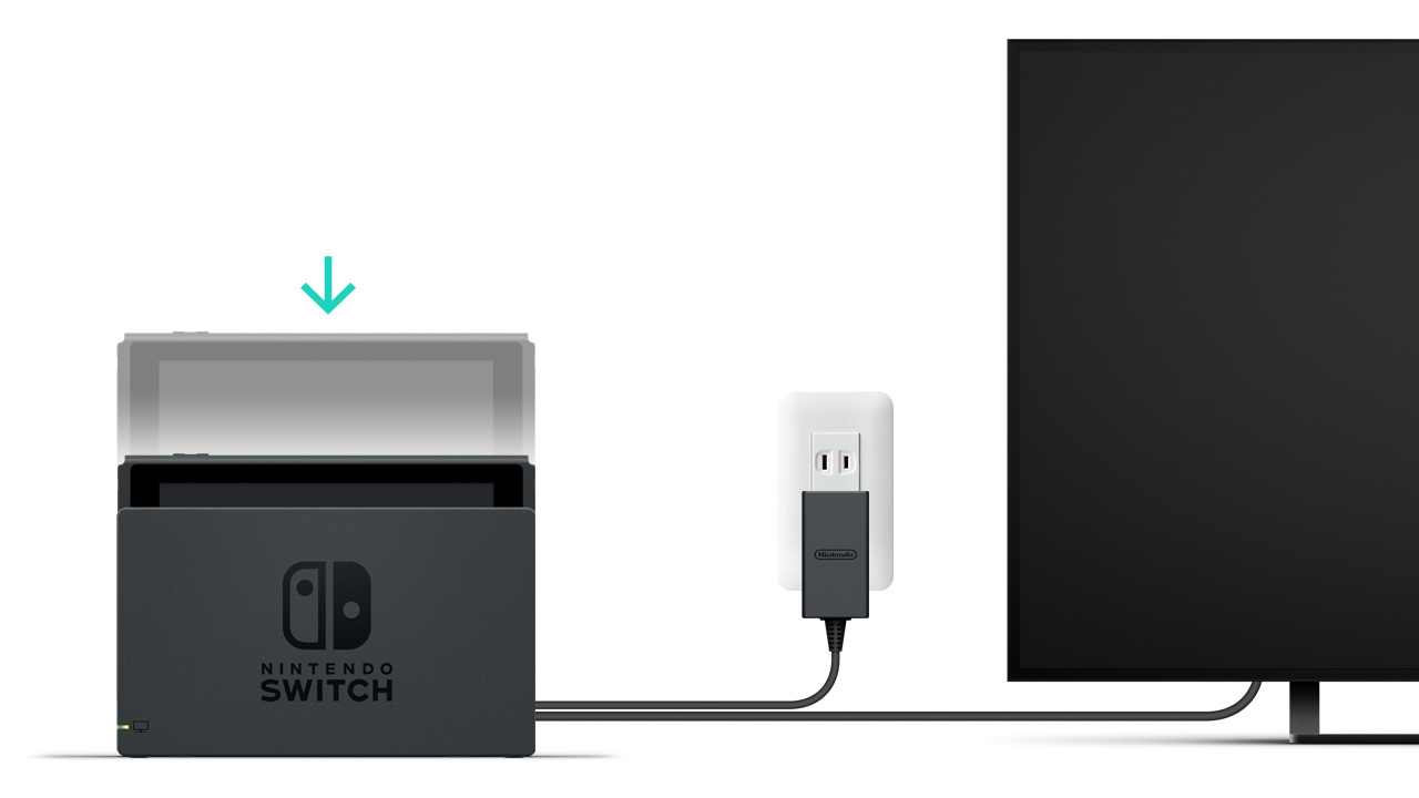 How To Connect Switch To Tv
